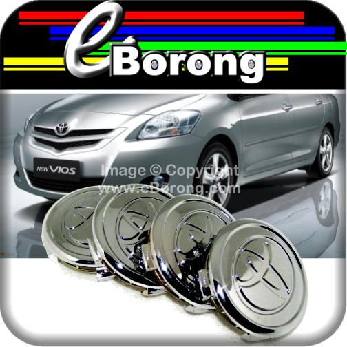 Vios Alloy Wheel Center Caps Hubcaps Rim Centre Covers Fitting Retenti