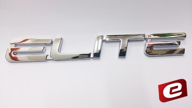 Viva Elite Rear Boot Emblem