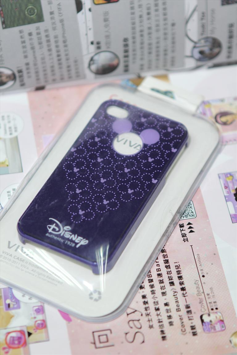 Viva Series Mickey iPhone 4/4S Casing - FREE SHIPPING #08