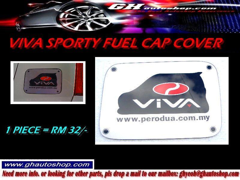 VIVA SPORTY FUEL CAP COVER WITH