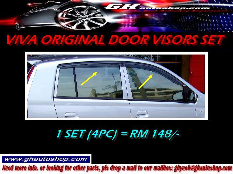 VIVA / VIVA ELITE ORIGINAL DOOR VISORS SET
