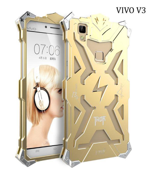 Vivo V3 / V3 Max Metal Case Cover Casing THOR S!MON