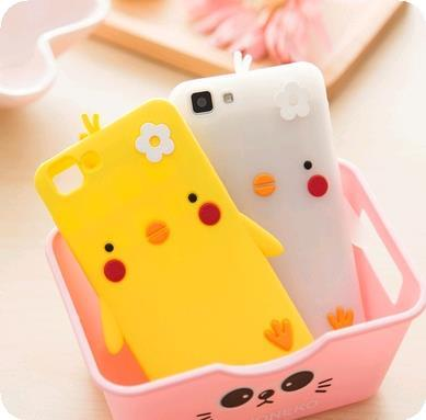 Vivo x5v x5m x5L x5sl Soft Silicone Cute Cartoon Casing Case Cover