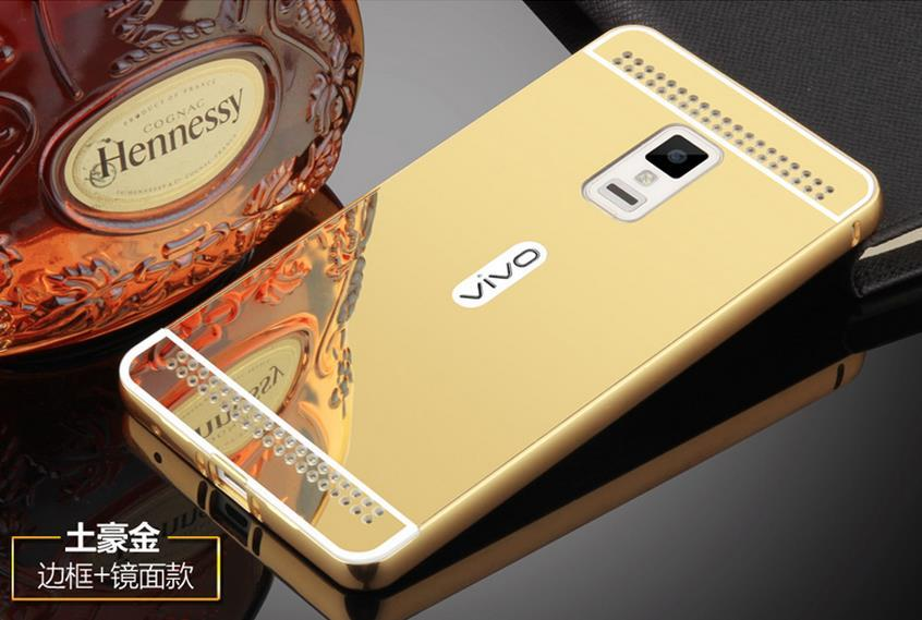 ViVO Xplay X Play 3S 24K Mirror Metal Bumper Case Cover Casing + Gift