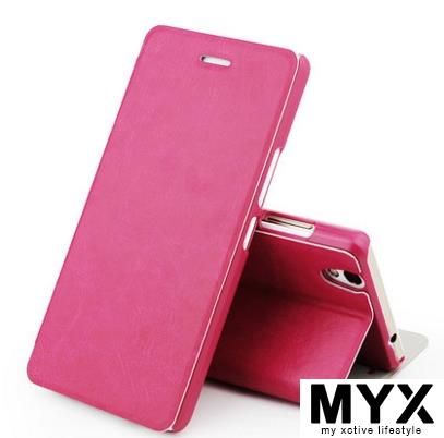 Vivo Y51 PU Leather Clamshell Casing Case Cover *FREE SP