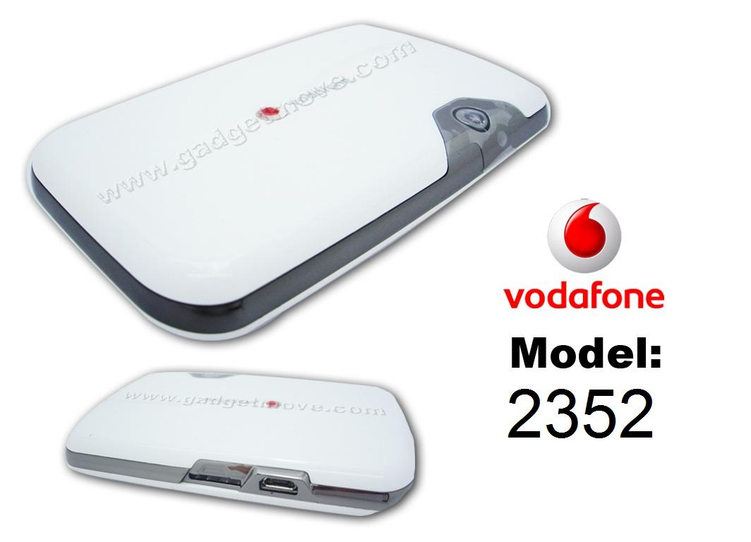Vodafone Novatel 2352 MiFi Router wireless Modem 2372 mobile wifi hots