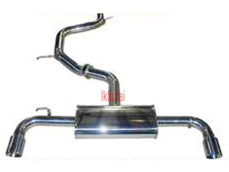 Volkswagen Golf `08 VI GTi Style Rear Muffler & Middle Section