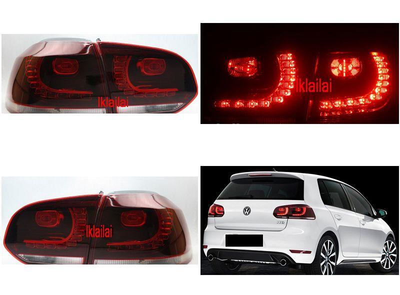 Volkswagen Golf 6 LED Tail Lamp [Red]  [1-pair]