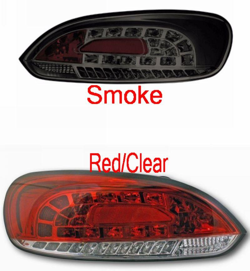 Volkswagen Scirocco `09 Crystal LED Tail Lamp Red-Clear/Smoke