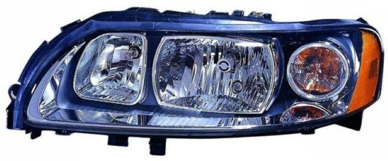 VOLVO S60 05-09 Crystal Head Lamp Black