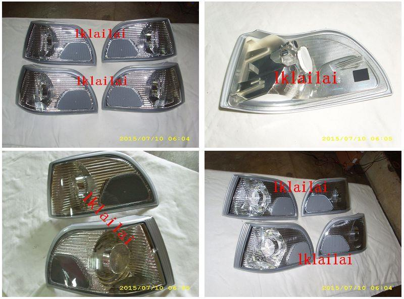 VOLVO S70 Corner Lamp Plastic Lens [Chrome Housing]
