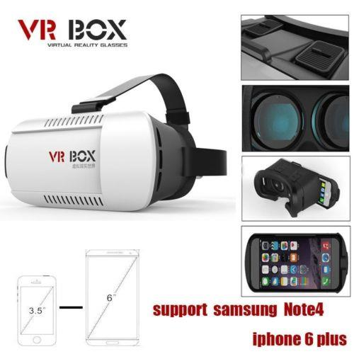 VR BOX 3D Virtual Reality VR Glasses vrbox android ios vr1 3day promo