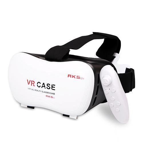 VR Case 5 3D Virtual Reality Glasses for 4.0 to 6.3inch Phone
