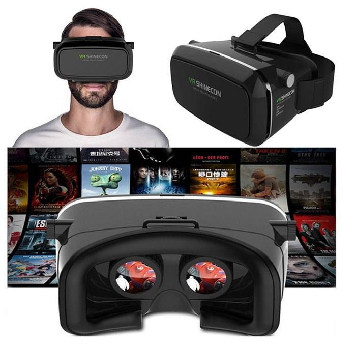 vr shinecon virtual reality headset end 11 25 2017 9 15 am. Black Bedroom Furniture Sets. Home Design Ideas