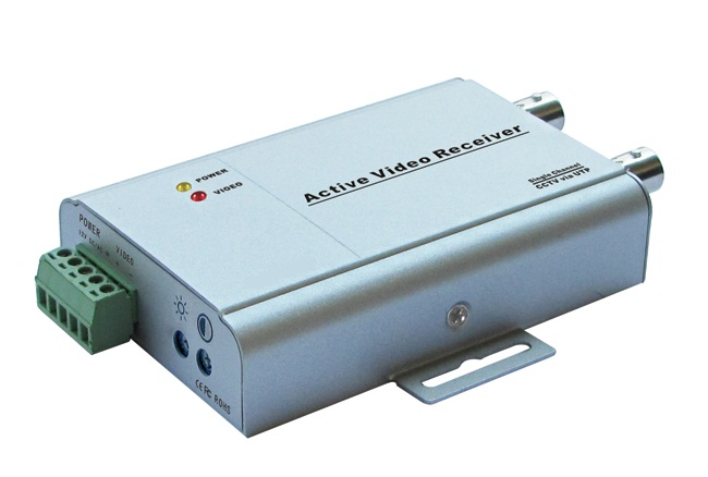 VR2001 1ch Active Receiver (Video Balun); transmit up to 1.5km