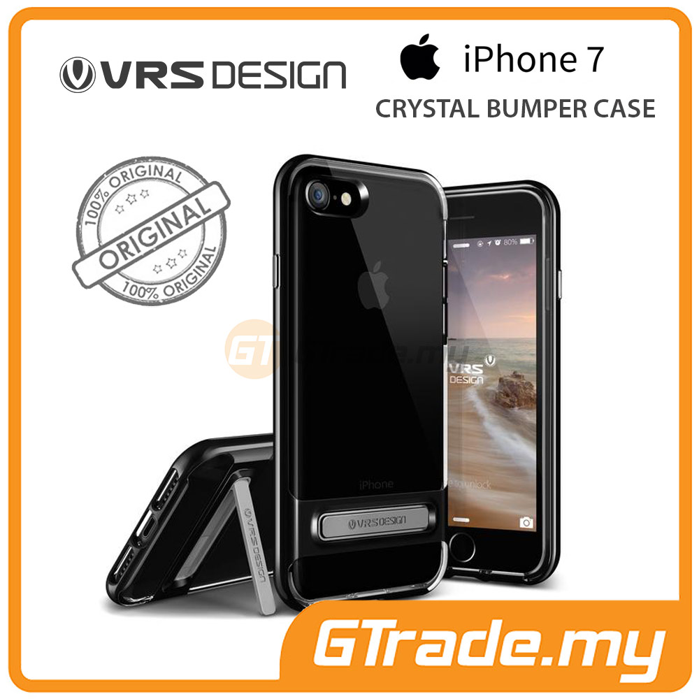 VRS DESIGN Crystal Bumper Case | Apple iPhone 7 - Jet Black