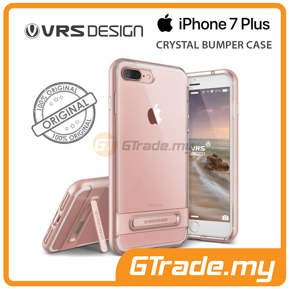 VRS DESIGN Crystal Bumper Case | Apple iPhone 7 Plus - Rose