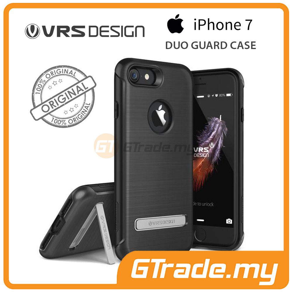 VRS DESIGN Duo Guard Rugged Case | Apple iPhone 7 - Black