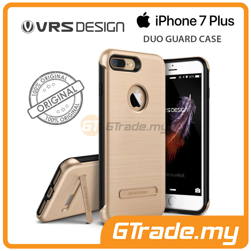 VRS DESIGN Duo Guard Rugged Case | Apple iPhone 7 Plus - Gold