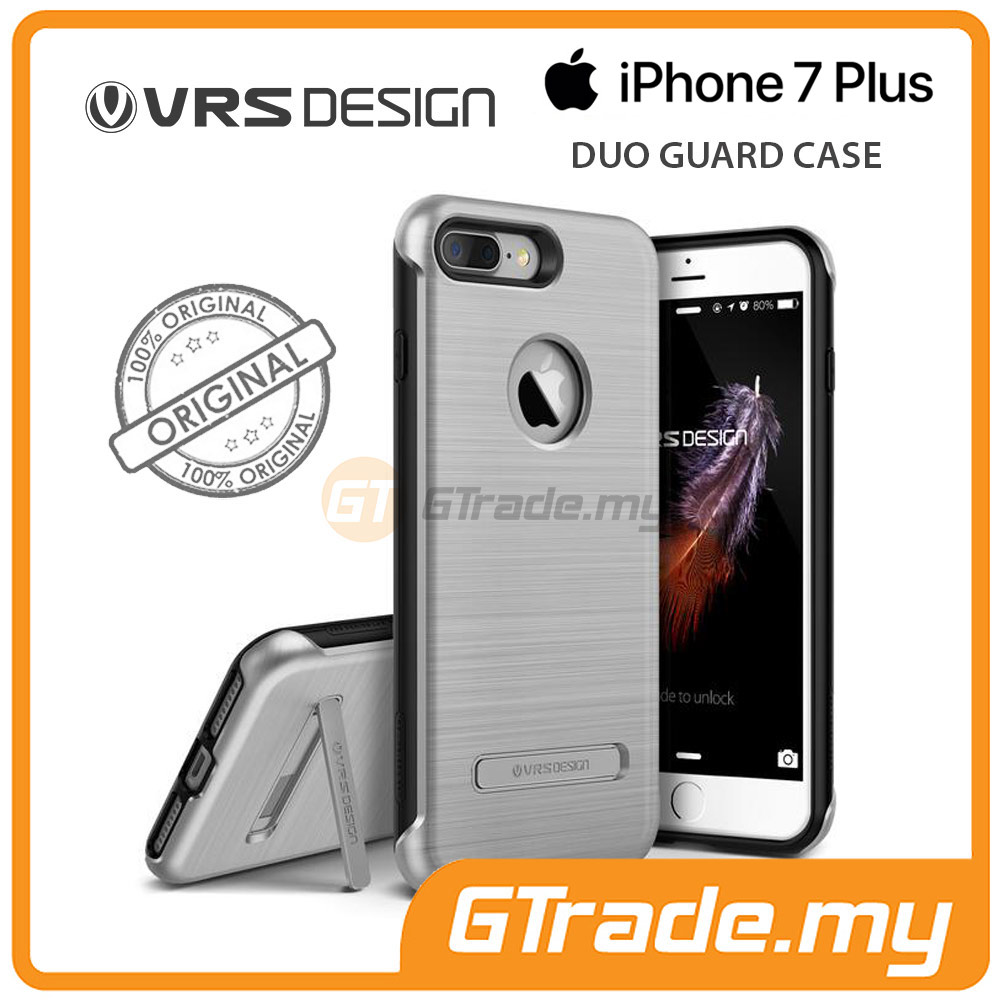 VRS DESIGN Duo Guard Rugged Case | Apple iPhone 7 Plus - Silver
