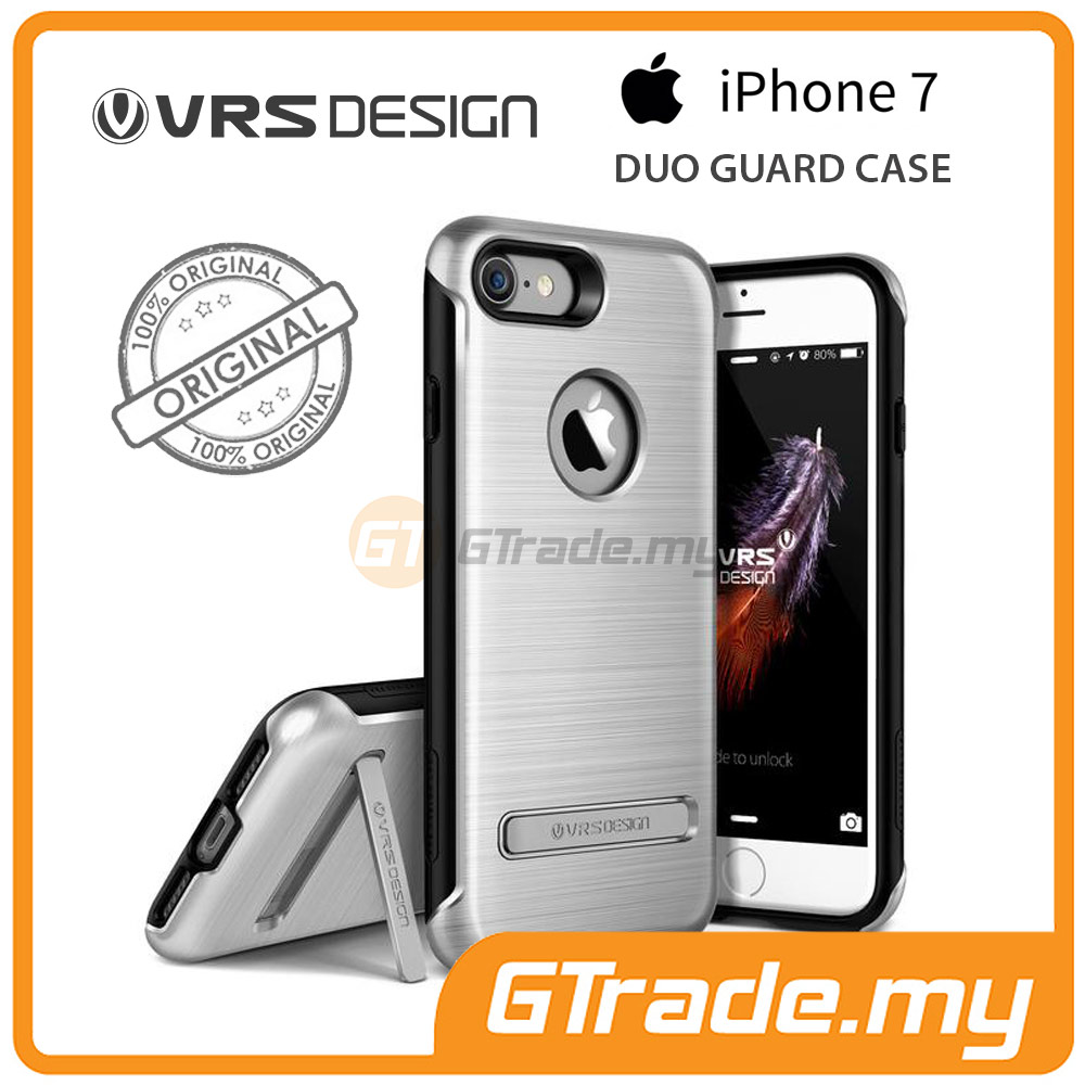 VRS DESIGN Duo Guard Rugged Case | Apple iPhone 7 - Silver