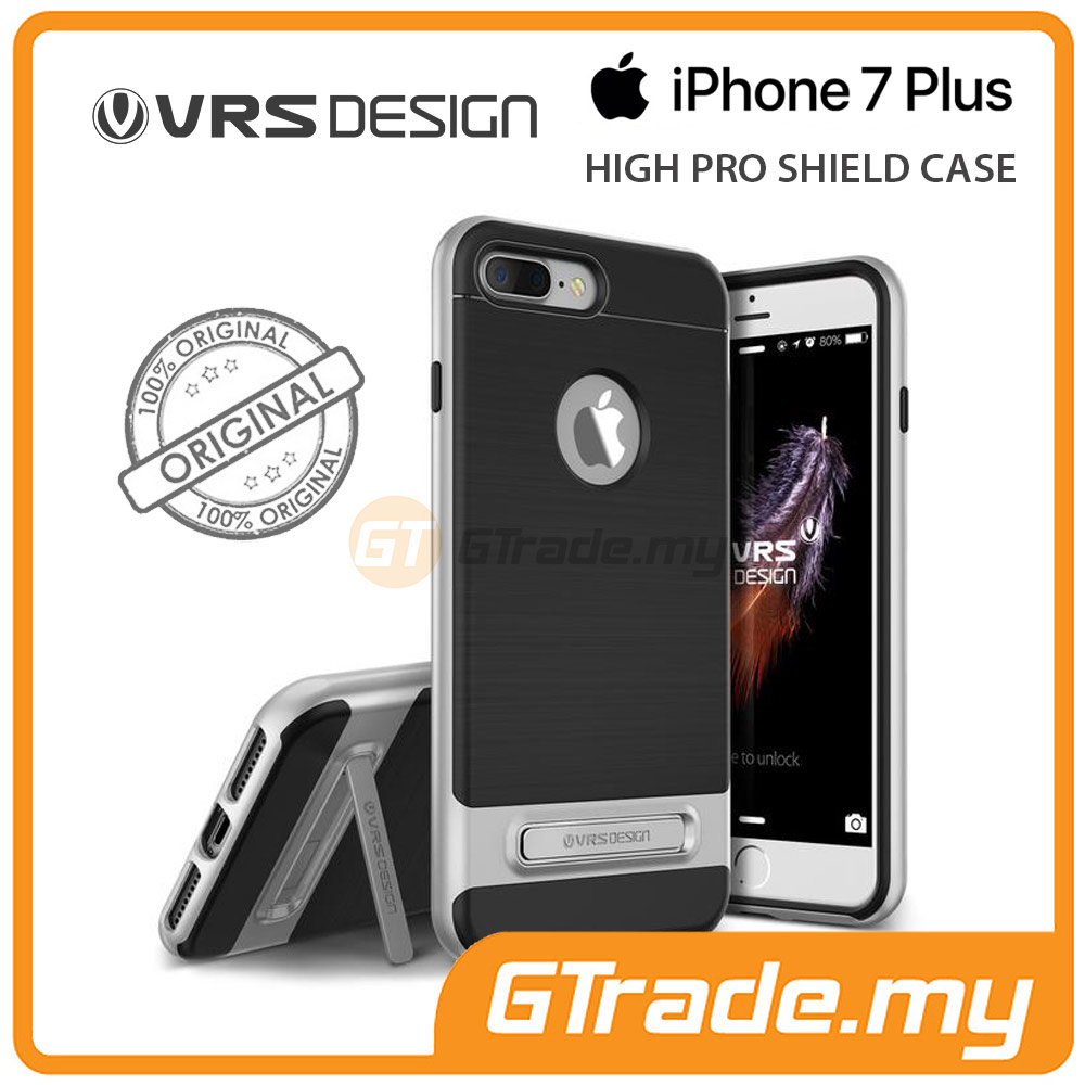 VRS DESIGN High Pro Shield Case | Apple iPhone 7 Plus - Silver