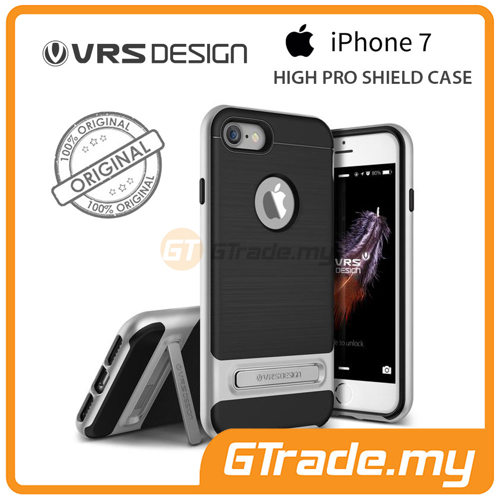 VRS DESIGN High Pro Shield Case | Apple iPhone 7 - Silver