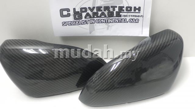 VW Golf mk6 carbon fibre side mirror cover set