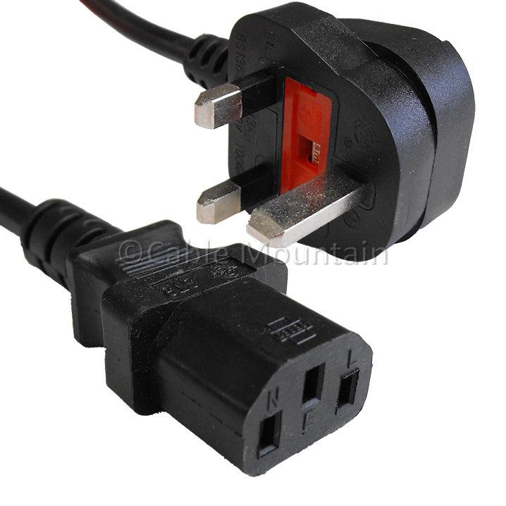 VZTEC 3 PIN CPU POWER FUSE CABLE -1.8 Meters