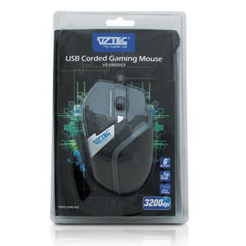 VZTEC 3200DPI USB WIRED LASER GAMING MOUSE, VZ-OM2053