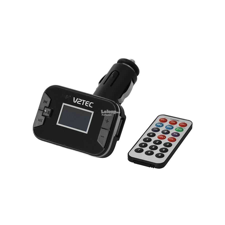 VZTEC SUPPORT MP3 & WMA WITH SD CARD SLOT FM MODULATOR (VZ3208)