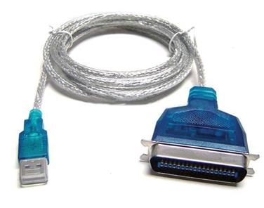 VZTEC USB TO IEEE1284(PARALLEL) PRINTER CABLE - 1.5METER (VZ-UC2116)
