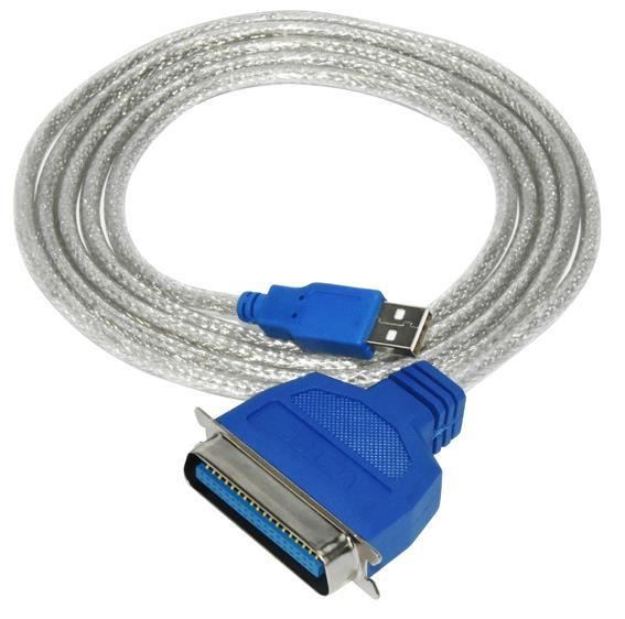 VZTEC USB TO IEEE1284 Parallel Printer Cable 2 Meter - VZ2116
