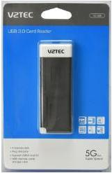VZTEC/ VETOP EXTERNAL USB3.0 CARD READER WITH STORAGE CASE (VZ1008)