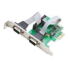 VZTEC/ VETOP PCI-E SERIAL CARD 2 PORT, 1704