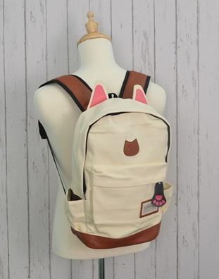 W92-Beige  Handbag, Backpack, Laptop Notebook iPhone Tablet Beg