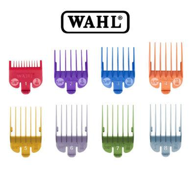 WAHL Pro Barber Colour-Coded Clipper Guide Color Attachment Combs