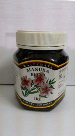 WAITEMATA MANUKA BLEND HONEY 1KG WAITEMATA MANUKA BLEND HONEY 1K