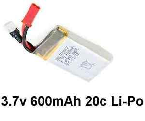 WALKERA LIPO 3.7V 600MAH 20C BATTERY