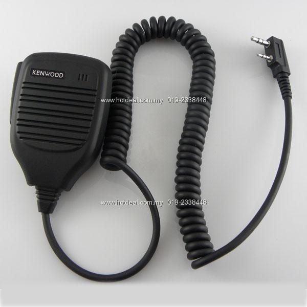 walkie talkie PTT Speaker mic