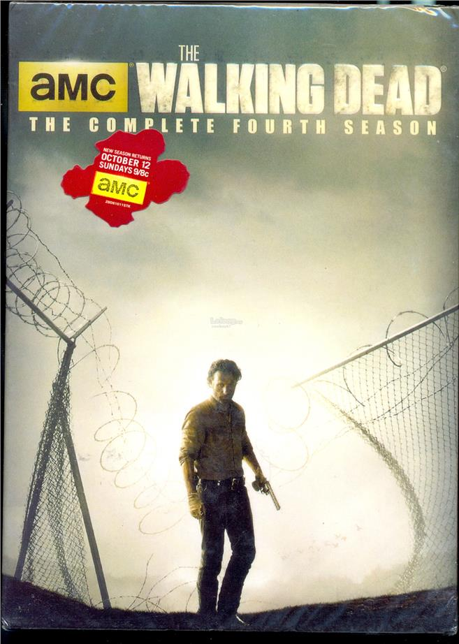 The Walking Dead The Complete Fourth Season - New DVD