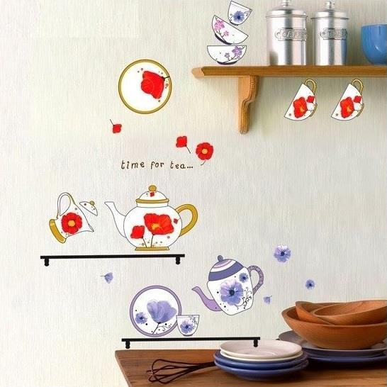 Wall Stickcer: Teapot