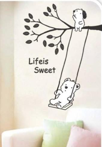Wall Sticker: Life is sweet