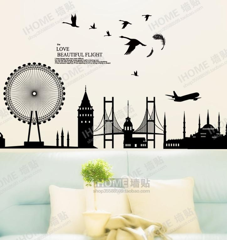 Wall Sticker WP-M15 (Sky Wheel)