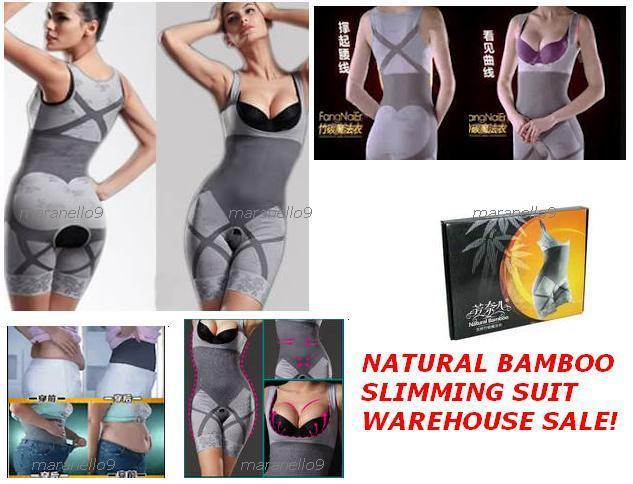 Warehouse Sale: Natural Bamboo Slimming Suit / Corset ...