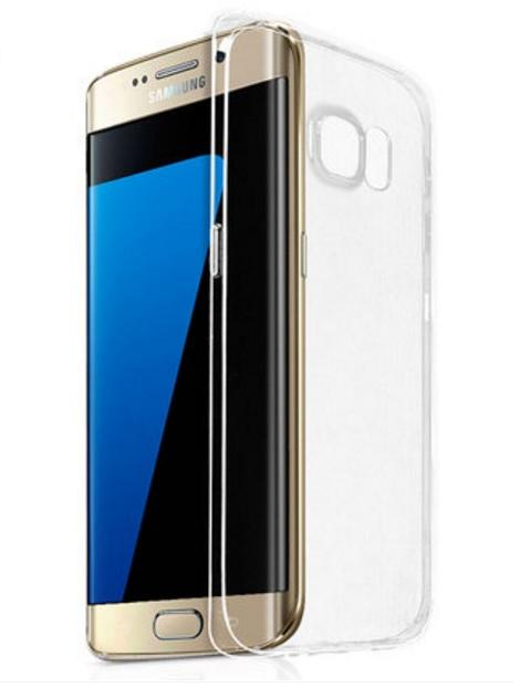 Waston High Transparency Galaxy S7 Edge Transparent TPU Case Cover