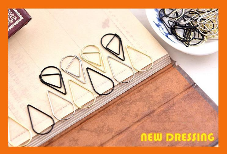 Water Drop Style Bookmark (10 Pcs) - Zakka/Diary/Photobook DIY