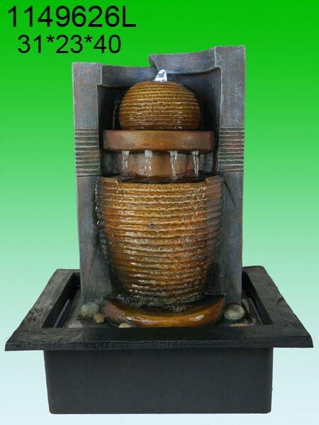 Water fountain vase lx1149626 feng end 9 3 2017 10 15 am for Water feature feng shui