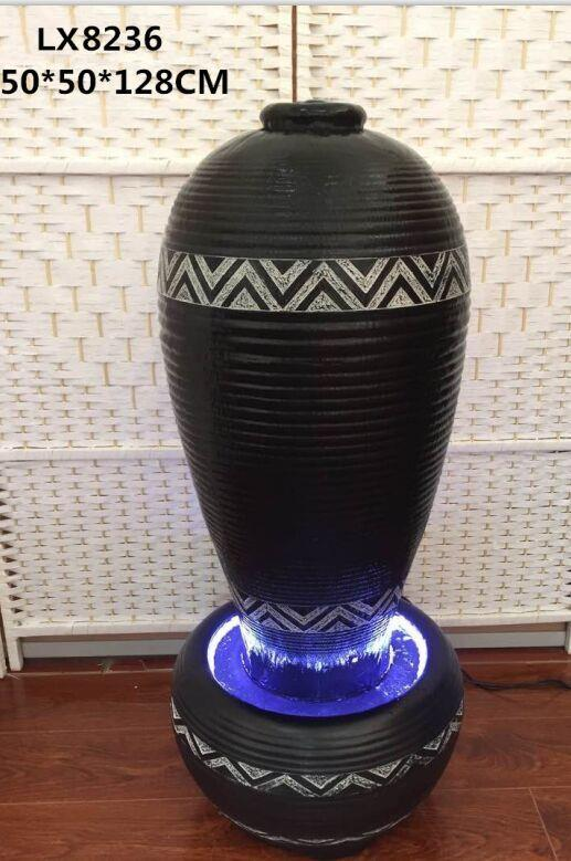 WATER FOUNTAIN - VASE LX8236 FENG SHUI HOME DECORATION