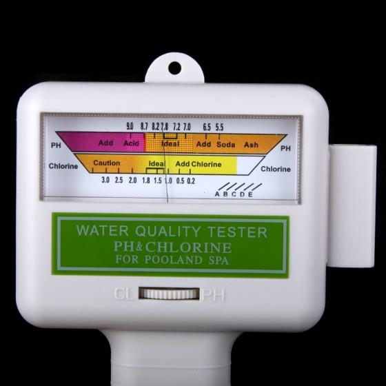 Water quality ph cl2 chlorine tester end 2 9 2018 11 15 pm Home swimming pool water ph cl2 tester